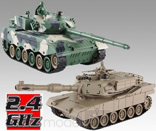 RC Súbojové tanky na diaľkové ovládanie, UF: Chinese 96 a American M1A2