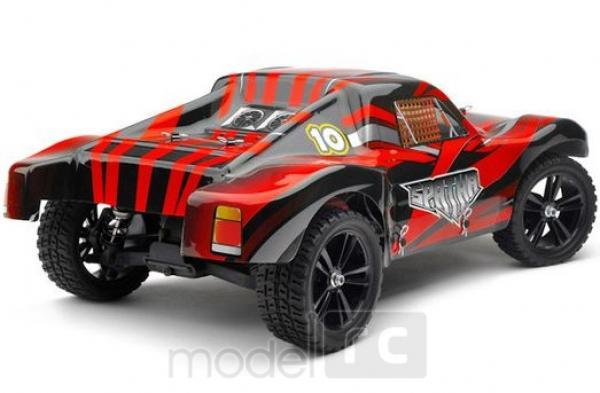 RC auto HiMoto Spatha ( Zenit SC )  RTR  2,4GHz, 1:10 červevý