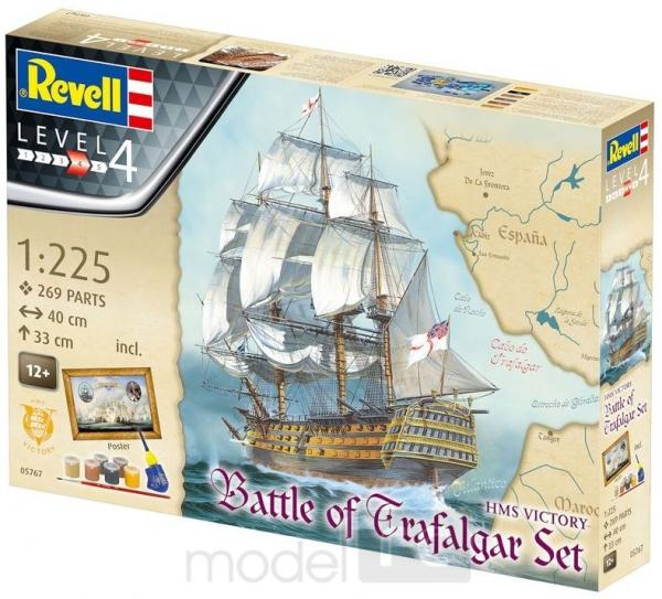 Plastový model Revell Battle of Trafalgar Gift set 1/225, 05767