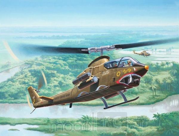 Plastikový model Revell Bell AH-1G Cobra 1/72, 04956