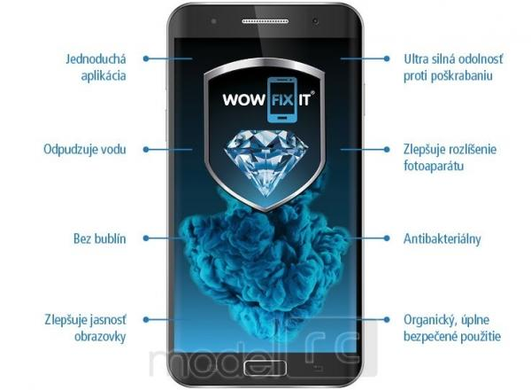 WOWFIXIT Titanium Screen Protector WOW FIX IT, tekuté sklo