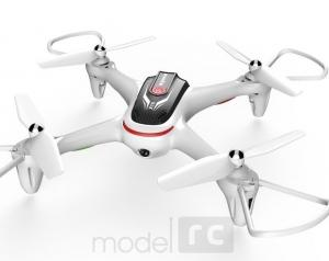 RC dron na ovládanie Syma X15, 2.4GHz, auto-start, funkcia zavesenia, biely