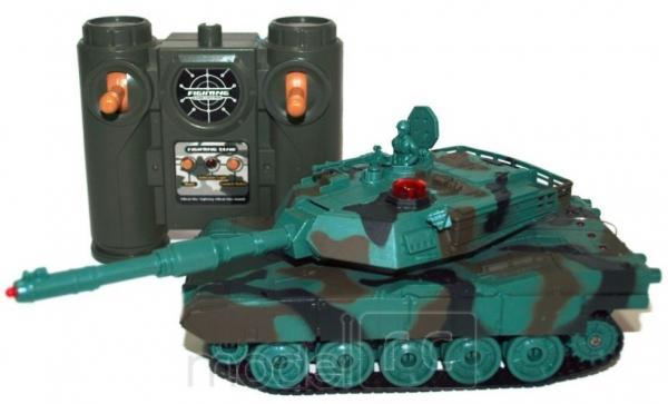 RC tank na diaľkové ovládanie American M1A2 1:32 RTR
