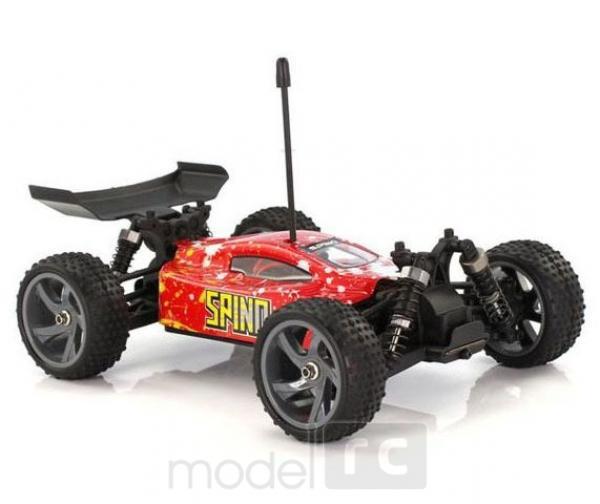 RC auto HIMOTO Buggy 1/18 - SPINO 4x4, E18XB red