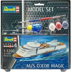 Plastový model Revell M/S Color Magic Model Set 1/1200, 65818