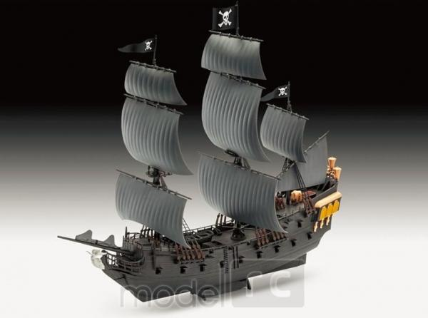 Plastikový model Revell Black Pearl (Čierna perla) Model Set 1/150, 65499