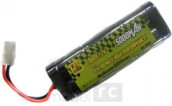 Batéria GPX Extreme 5000mAh 7.2V NiMH, 72050