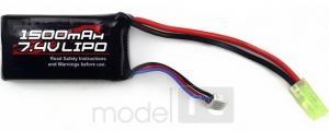 Batéria Himoto 1500mAh 25C 7.4V LiPo Mini Tamiya
