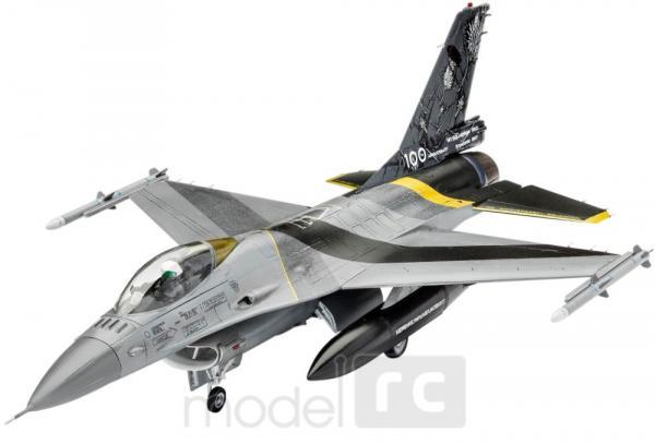 Plastikový model na lepenie Revell F-16 MLu 100th Anniversary Model Set 1/72, 63905