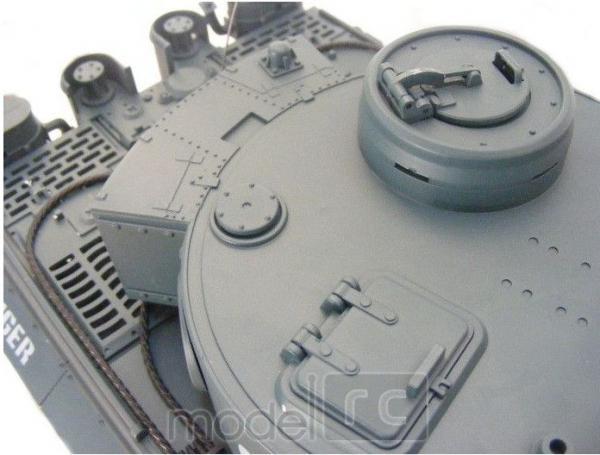 RC Tank na diaľkové ovládanie TIGER RTR, 1:18, nestrieľa guličky