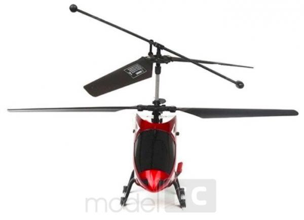 RC vrtuľník na ovládanie MJX T64 SHUTTLE 3CH, 2.4GHz, červený