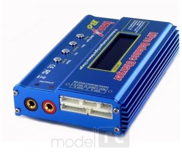 Imax B6 80W 6A inteligentná nabíjačka s balancérom + Zdroj 12V 7A