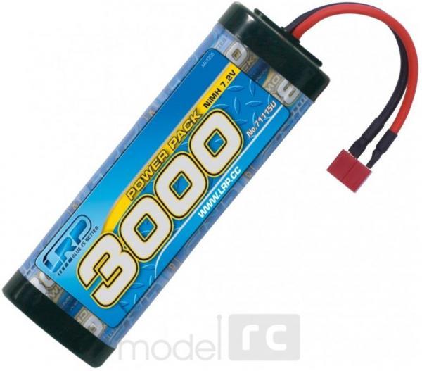 LRP - Power pack 3000 mAh 7.2V NiMH batéria 71115U T-Dean