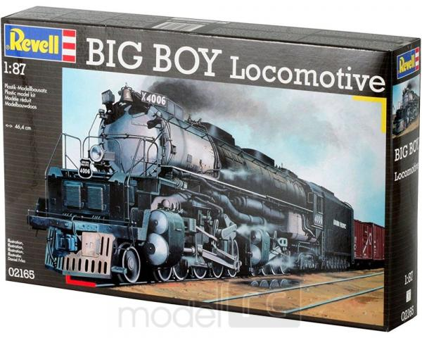 Plastikový model na lepenie Revell Big Boy Locomotive 02165