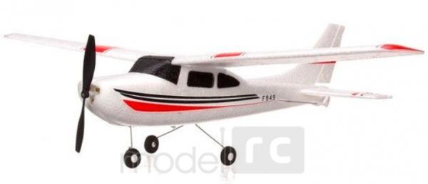 RC lietadlo na ovládanie WL toys Micro Cessna 182 Plane F949 3CH 2.4GHz RTF