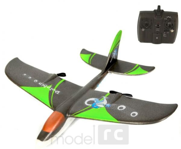 RC lietadlo na diaľkové ovládanie WX9101 2CH 2.4GHz RTF