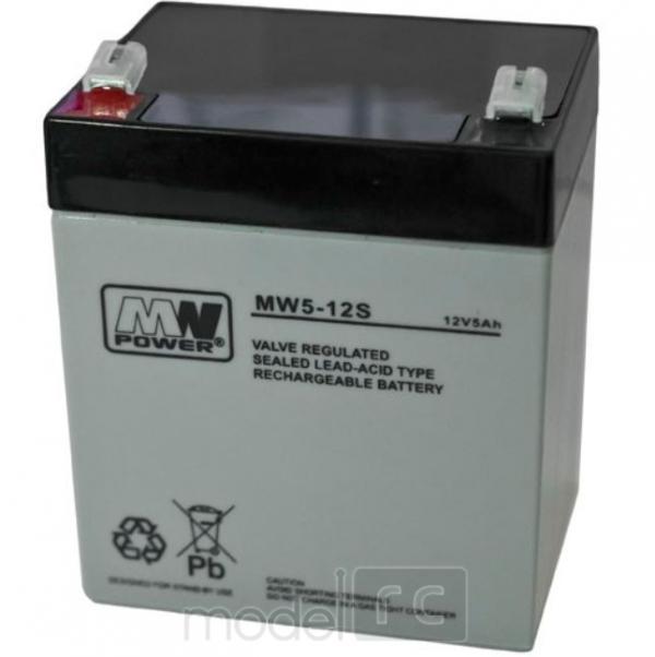 Gelová Batéria MN POWER Pb 12V 5Ah bezúdržbová